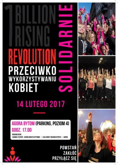 """Zatańcz i powiedz NIE przemocy wobec kobiet Styl życia, LIFESTYLE - Dość gwałtom na randkach - to hasło uczestniczek akcji """"Nazywam się Miliard/One Billion Rising"""". W Walentynki zaprotestują w Agorze Bytom przeciwko przemocy wobec kobiet. Wciąż można do nich dołączyć."""